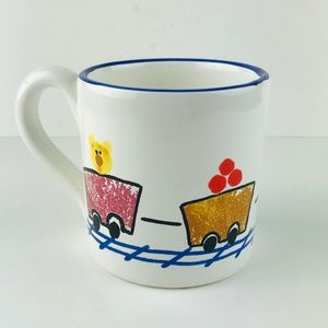 Made for Starbucks holiday kids cho-cho train mug
